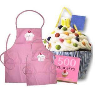 Cupcake Apron Gift Set