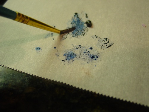Blue Food Coloring To paint With