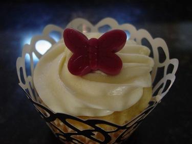 Butterfly Cupcake Using Wonka Gummie's