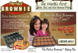 brownie pan picture with mom and daughter