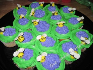 Bumble Bee Cupcakes By Lori Arpey