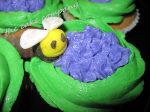 Bee Cupcakes by Lori Arpey