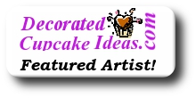 Decorated Cupcake Ideas Featured Artisit Badge