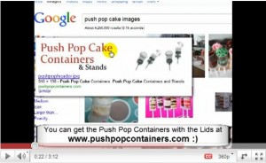 Push Pop Cake Video