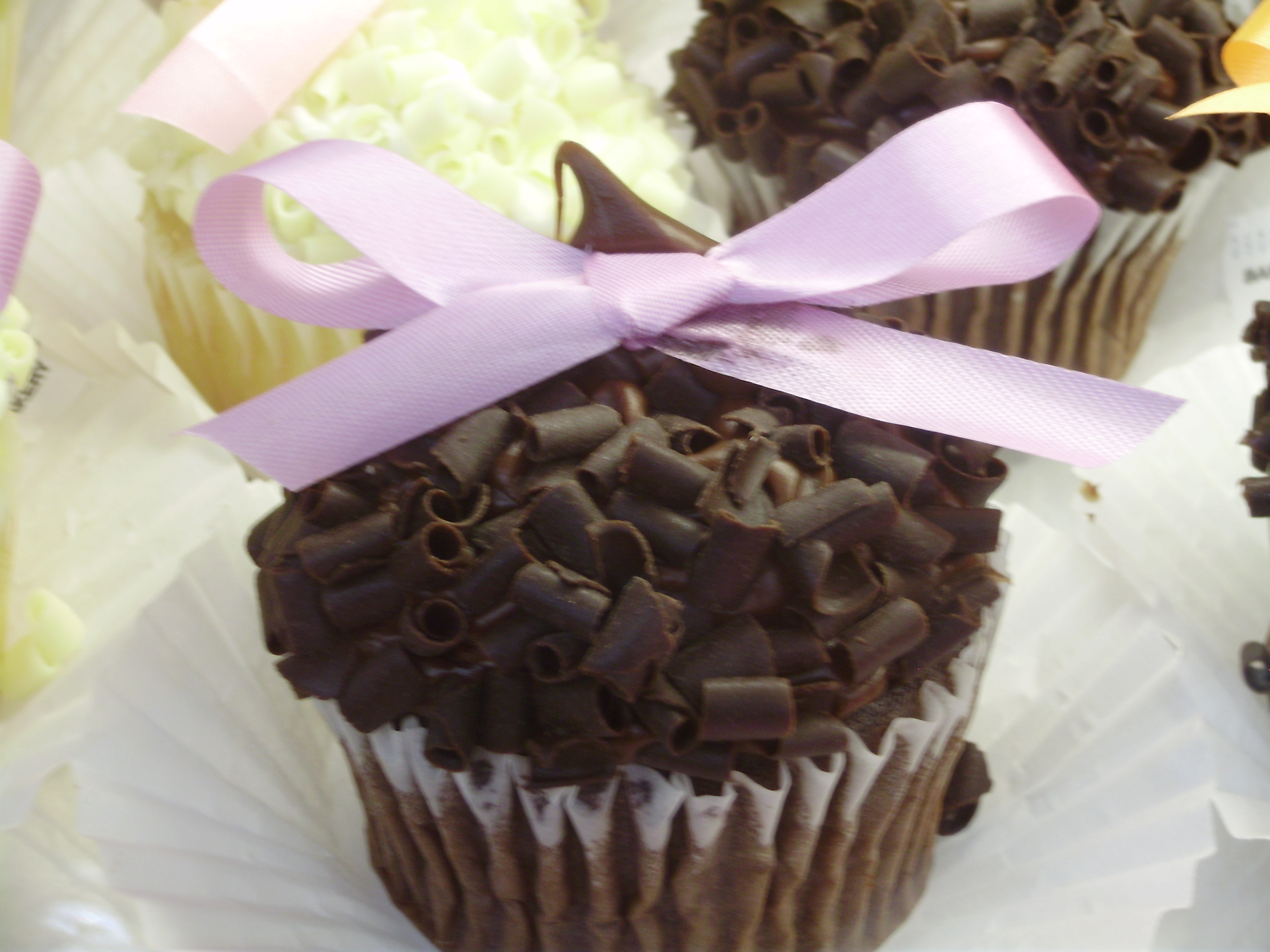 Stater Bros Giant Cupcakes With Chocolate Curls