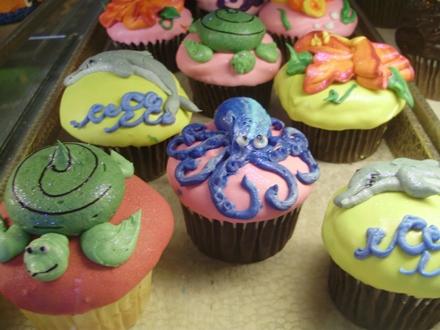 Sea Life Cupcakes