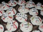 Marshmallow Skull Cupcakes