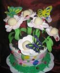 cake pops flower pot