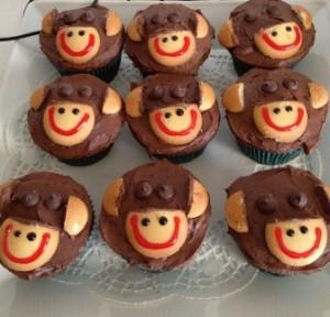 Monkey Cupcakes