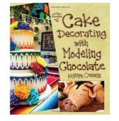 Cake decorating with modeling Chocolate Book