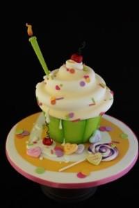 Candy Land Jumbo Cupcake